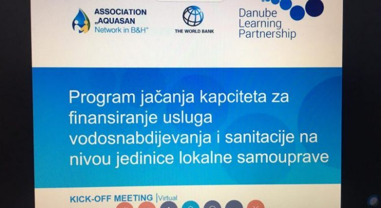 Online sastanak u cilju jačanja programa za finansiranje komunalnih usluga na ošptinskom nivou