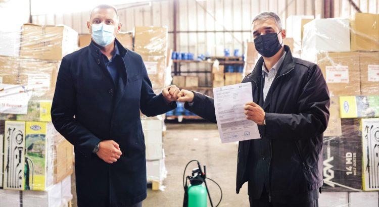 Podrška Njemačke javnim komunalnim preduzećima i lokalnim samoupravama u suzbijanju pandemije COVID19